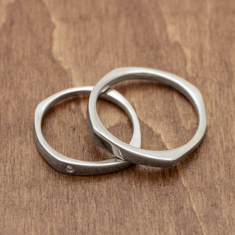 Squre | Wedding Rings