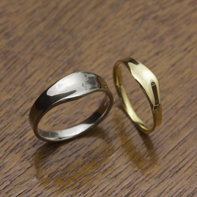 Dimples | Wedding Rings